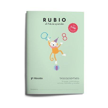 Cuaderno vacaciones Rubio 1º Primaria