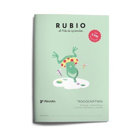 Cuaderno vacaciones Rubio 2º Primaria