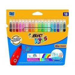 Rotuladores BIC Kids Couleur 18 unidades