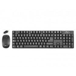 Set teclado raton Marca NGS Groove inalambrico conector OTG