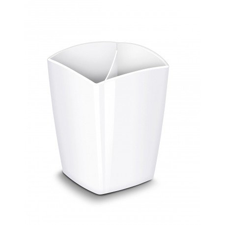 Cubilete Portalapices Cep magnetico color Blanco 78x74x95mm