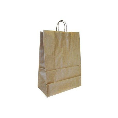 Bolsa Kraft Marca Q-Connect Reciclado 240X100X310 mm