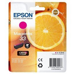 Cartucho Epson T3343 color magenta C13T334340