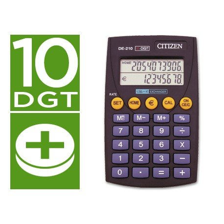 DE-210 Citizen 10 digitos