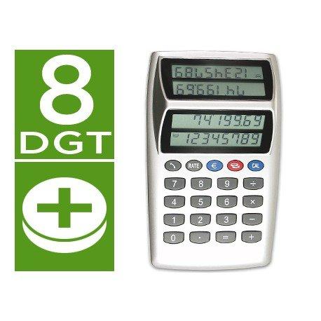 Calculadora Sobremesa CSP Modelo P-884 CFD doble pantalla