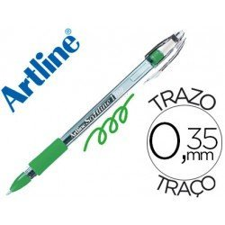 Boligrafo Artline 1700 Softline verde