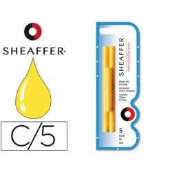 Cartuchos de tinta Sheaffer Classic color oro