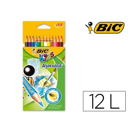 Lapices de colores Bic kid