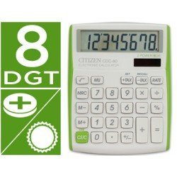 Calculadora  sobremesa Citizen Modelo CDC-80 8 digitos
