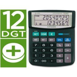 Calculadora Sobremesa Citizen Modelo DL-870 euro 12 digitos