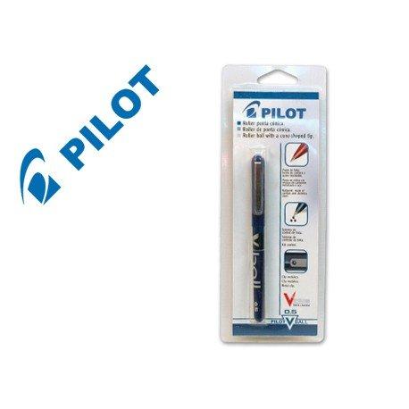 Boligrafo Pilot V-Ball azul en blister