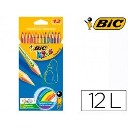 Lapices de colores Bic tropicolors