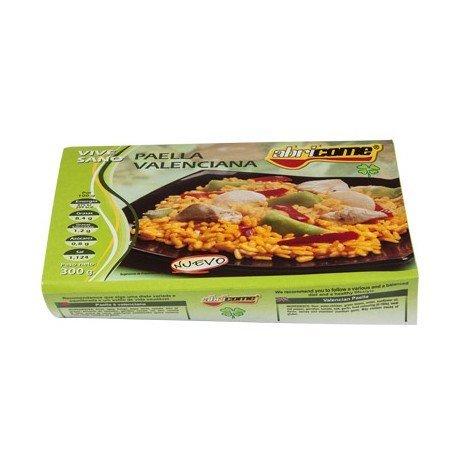 Paella Valenciana Abricome preparada para calentar y comer