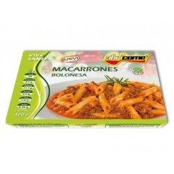 Macarrones boloñesa Abricome preparados para calentar y comer