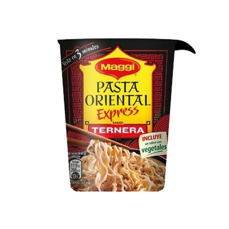 Pasta oriental ternera marca Maggi