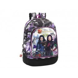 Mochila Escolar The Descendants Adaptable Carro 33x46x17,5 cm