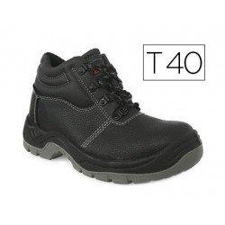 Botas de seguridad Marca Faru Cuero Negro Talla 40