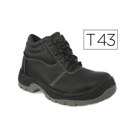 Botas de seguridad Marca Faru Cuero Negro Talla 43
