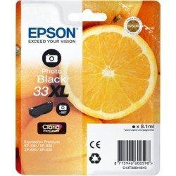 Cartucho Epson T3361 33XL Color Negro Foto C13T336140