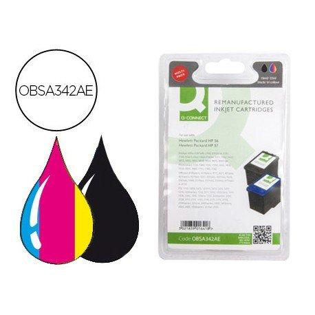 Cartucho compatible HP 56+57 Tricolor + Negro OBSA342AE