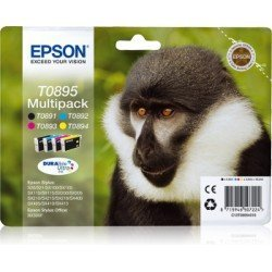 Cartucho Epson Multipack de 4 colores T0895