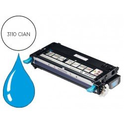 Toner Dell 3110CN color Cian