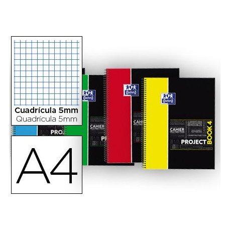 Bloc Inteligente Oxford Project Book4 tapa extradura colores surtidos