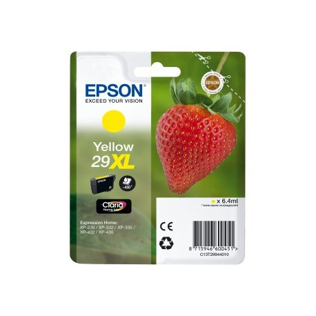 Cartucho Original Epson HOME 29XL C13T29944010 Color Amarillo