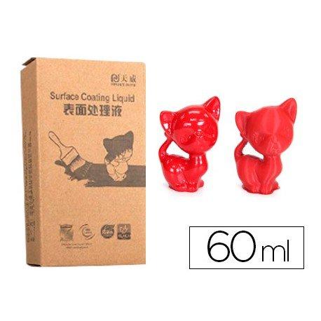 Recubrimiento 3d Colido color rojo 60 ml