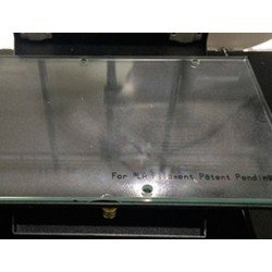 Plataforma cristal ABS impresora 3D Colido 2.0 Plus