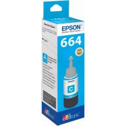 Tinta Epson T6642 Eco Tank Color Cian 70 ml
