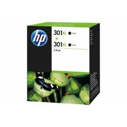 Cartucho HP N.301XL Deskjet Negro Pack 2 unidades D8J45AE