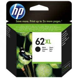 INK-JET HP ENVY 5640 / 7640 OFFICEJET 5740 N.62 XL NEGRO 600 PAG