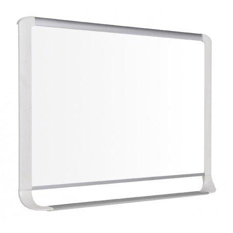 Pizarra Blanca Lacada Magnetica con marco de aluminio 120x90 Bi-Office