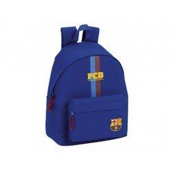 Mochila Escolar F.C. Barcelona Sin carro 32x14x40 cm Day Pack Azul