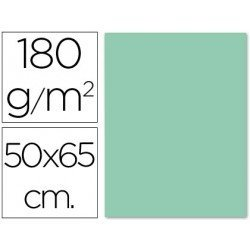Cartulina Liderpapel color verde 180 g/m2