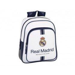 Mochila Infantil Real Madrid Adaptable a Carro 27x10x33 cm 1º equipacion