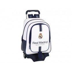 Mochila Escolar Real Madrid Con carro 905 33x15x43 cm 1º equipacion