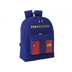 Mochila Escolar F.C. Bacrelona Sin carro 32,5x15x43 cm 1º equipacion