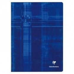 Libreta Clairefontaine Tapa de Carton Plastificada 48 hojas 24x32 cm Colores Surtidos