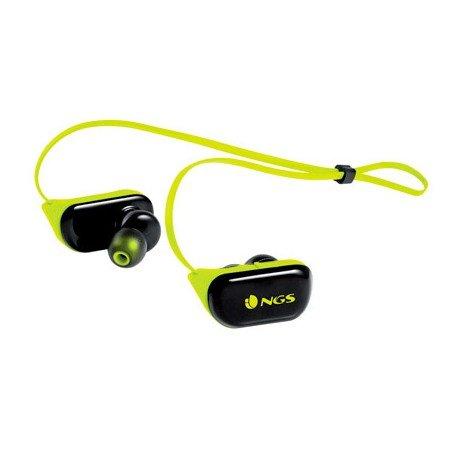 Auricular NGS Bluetooh con Microfono Color Amarillo