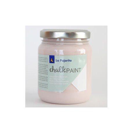 Pintura Acrilica La Pajarita Efecto Tiza Color Rosa Capricho 175 ml Chalk Paint