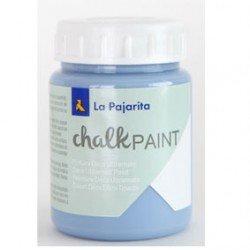 Pintura Acrilica La Pajarita Efecto Tiza Color Azul Horizonte 175 ml Chalk Paint