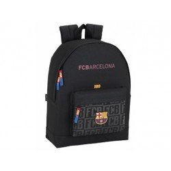CARTERA ESCOLAR SAFTA F.C. BARCELONA BLACK MOCHILA 325X430X150 MM