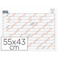 Planning de sobremesa anual Quo Vadis 55X43 cm