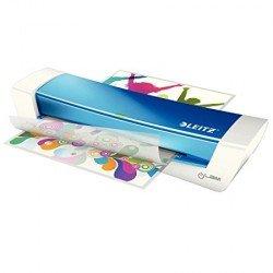 Plastificadora Leitz DIN A4 con 2 Rodillos hasta 100MC color Azul