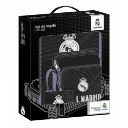 Set Regalo Escolar Real Madrid Black