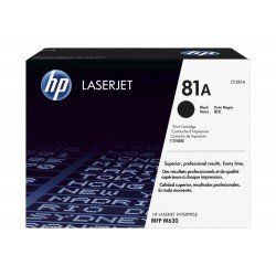 Toner HP 81A color Negro CF281A