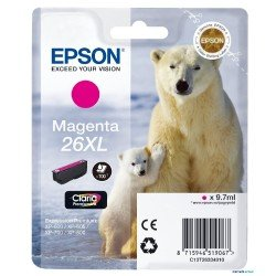 INK-JET EPSON 26XL XP600 / 605 / 700 / 800 MAGENTA 700 PAG