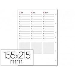 Recambios Agenda Finocam de Semana Vista 155x215mm